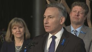 RAW: News conference on new campaign against human trafficking
