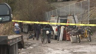 Seattle Homeless Sweep targets area near SR 509, 1st Ave. S