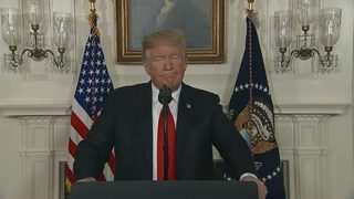 RAW VIDEO: President Trump makes announcement about government shutdown