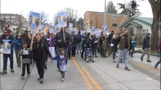 Marchers fill downtown Seattle celebrating Dr. King