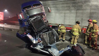 I-5 reopens in Tacoma after semi crash near SR 16