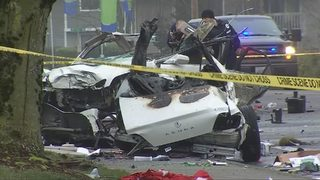 Police still seeking answers after fiery, fatal crash