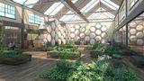 Artist vision of a Recomposition facility - courtesy: MOLT Studios