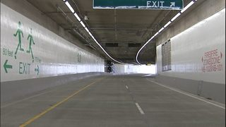 NB SR 99 Tunnel closing overnight for maintenance