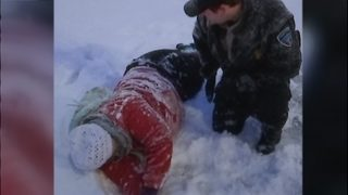 Everett CC security sergeant finds injured woman covered in snow
