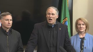 RAW: Gov. Inslee, Mayor Durkan and other officials give update on winter weather conditions