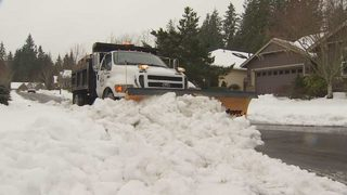 Crew from Orting helps clear Redmond roads