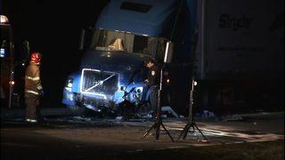 One killed in Fife crash between car, semi-truck | KIRO-TV