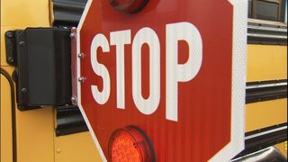 VIDEO: Bellevue police, schools cracking down on drivers who pass stop paddles on school buses