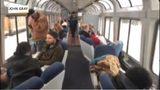 VIDEO: Stranded Amtrak passengers return to Seattle