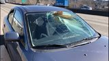 VIDEO: Man survives wood going through windshield on SR 167
