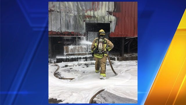 Fire damages sawmill in Snohomish County | KIRO-TV