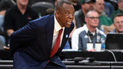 LAS VEGAS, NV - MARCH 07: Head coach Ernie Kent of the Washington State Cougars looks on during a first-round game of the Pac-12 basketball tournament against the Oregon Ducks at T-Mobile Arena on March 7, 2018 in Las Vegas, Nevada. The Ducks won 64-62 in overtime. (Photo by Ethan Miller/Getty Images)