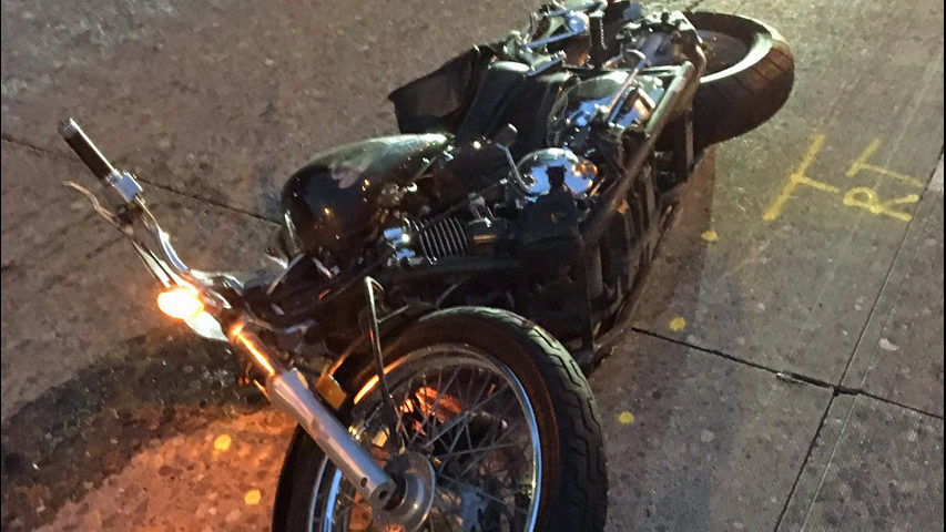 Fatal motorcycle crash snarls I-5 traffic in Downtown