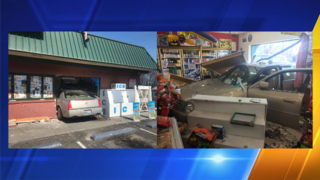 Car crashes into minimart at Shell Station in Kennewick