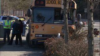 Several injured in school bus crash in Covington