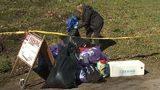 VIDEO: Homeless camp swept in Seattle's Fremont neighborhood