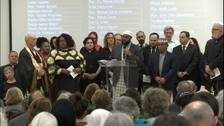 Interfaith prayer vigil held for New Zealand shooting victims
