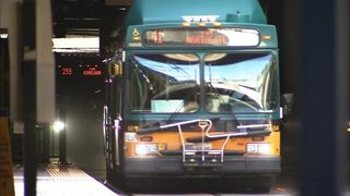 Last day for buses in Seattle