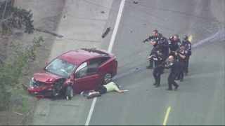 RAW: Chopper 7 over reported shooting in North Seattle