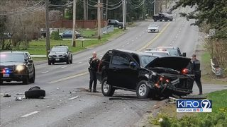 VIDEO: Wild police chase, violent crash caught on camera in Pierce County