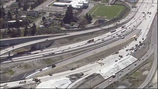 VIDEO: DOT to cut speed limit 50 mph on stretches of I-5 into Tacoma