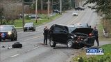 VIDEO: Driver of car hit during high-speed pursuit near Tacoma speaks out