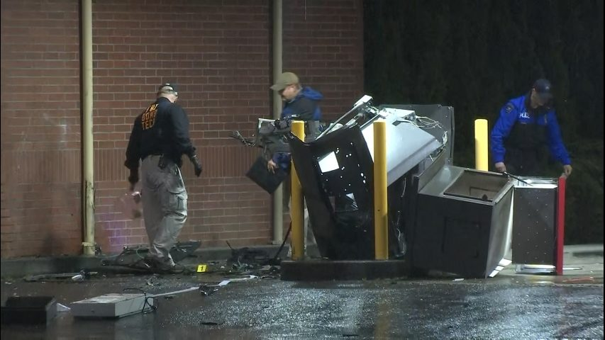 Suspect arrested in series of ATM explosions across the
