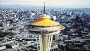 File photo of the Space Needle at the 1962 World's Fair.