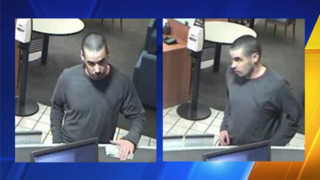 Police searching for Burlington bank robbery suspect