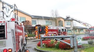 North Sound school closed after smoke fills building