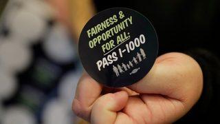 Affirmative action initiative reaches Washington Legislature