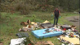 Trash cop tracks down illegal garbage dumpers at JBLM