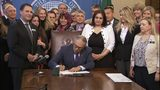 VIDEO: Gov. Inslee signs bill to extent statute of limitations for various sex crimes