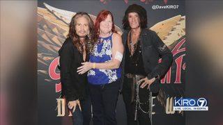 Teacher hurt in Lake City shooting spree gets to meet Aerosmith