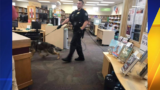 Suspect in QFC robbery found hiding in library, police say