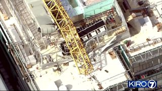 RAW VIDEO: Chopper 7 video of fatal crane collapse