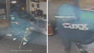 VIDEO: Dozens of guns stolen from Gorst store