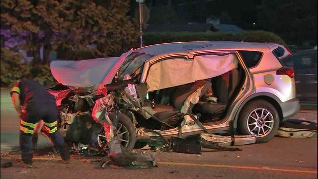 PHOTOS: Head-on crash between semi, SUV blocks SR 527 | KIRO-TV
