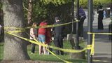VIDEO: 'Young male' shot at Kent park as children played nearby
