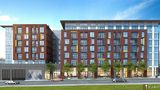 A rendering of the Hailey Apartments, a mixed-use 166-unit development planned for the southwest corner of Tacoma Avenue South and Earnest S. Brazill Street. It will include two levels of underground parking and retail. Photo via The News Tribune.