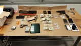 Evidence seized from 2nd Avenue South and South Washington Street. (Credit: Seattle Police Department)