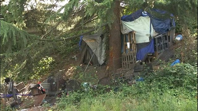 Large homeless encampment involved in drug-ring bust to be cleared