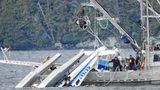 Two people were killed after a floatplane crashed near Metlakatla, Alaska. (Credit: Aerial Leask)