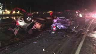 1 killed in multi-vehicle crash in Chelan County