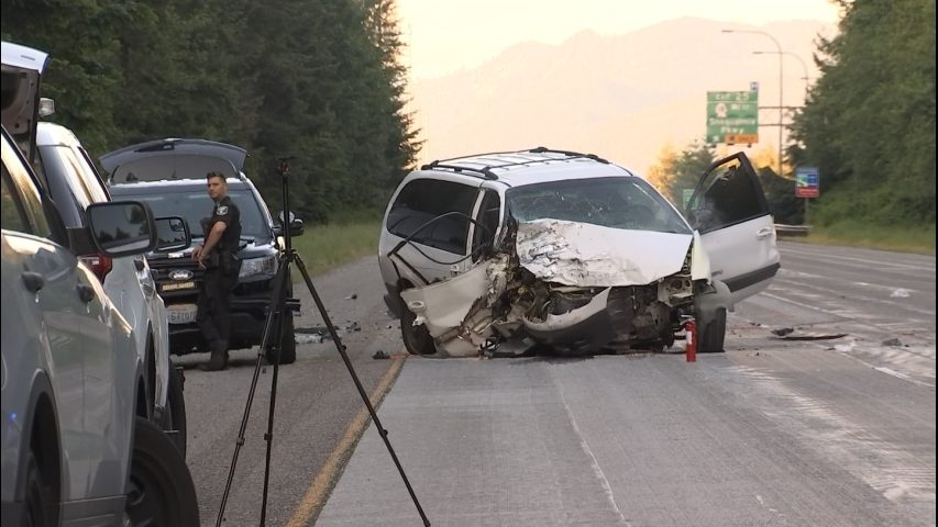 Multiple people injured in accident on eastbound I-90 when driver