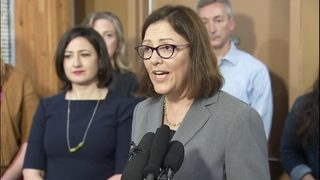 RAW: Congresswoman DelBene voices support of Women