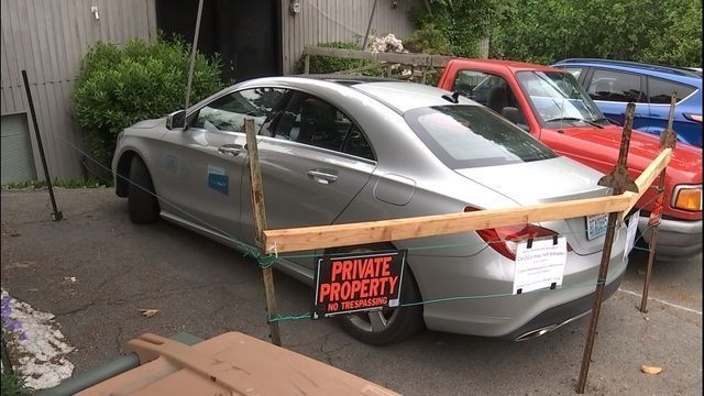 Car To Go >> Seattle Property Owner Holding Illegally Parked Car To Go Vehicle