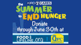 The Summer to End Hunger Raises $50k