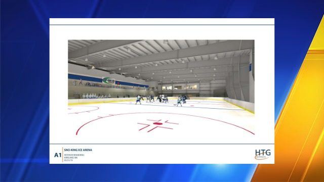 Two-sheet ice arena being built in Snoqualmie for amateur hockey players